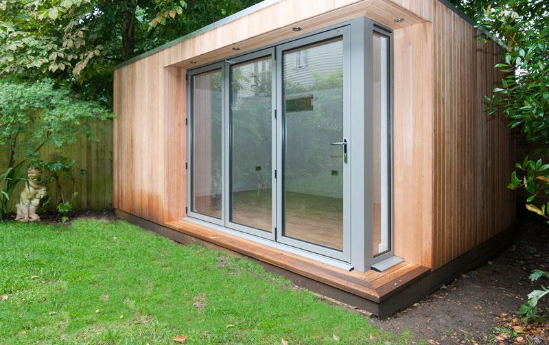 Garden Studios And Offices Bifold Sliding Doors