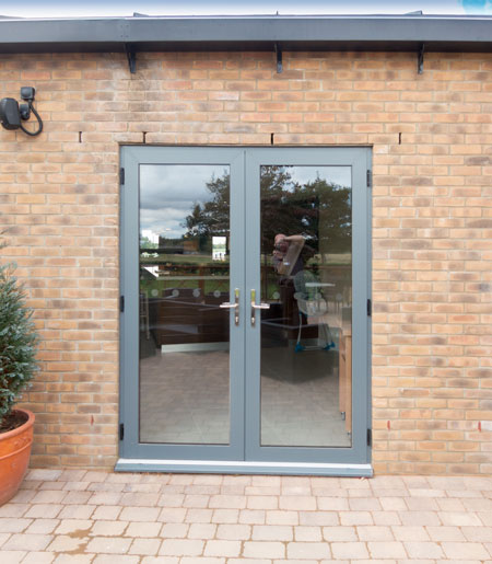 SMART Alitherm Plus French Doors.