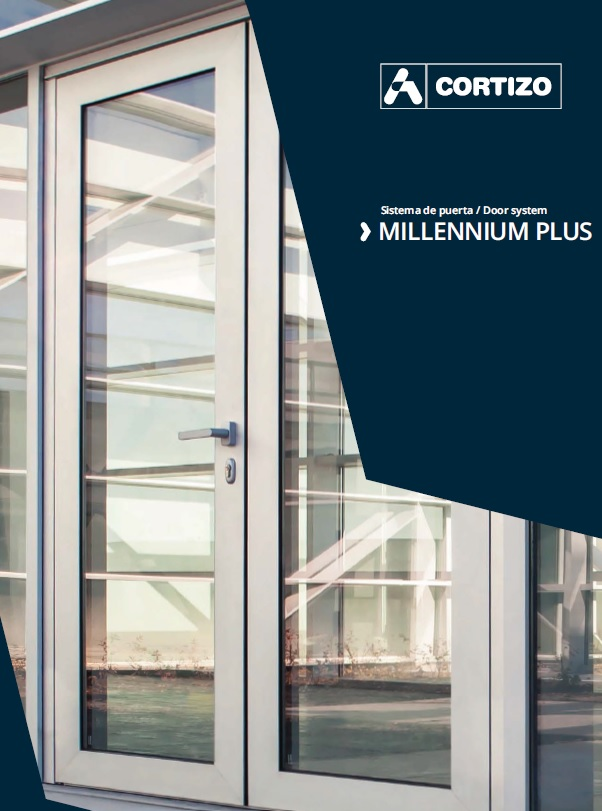 COR Millennium Plus Aluminium Door & Cortizo Millennium Plus Door - Manufactured by Alumen