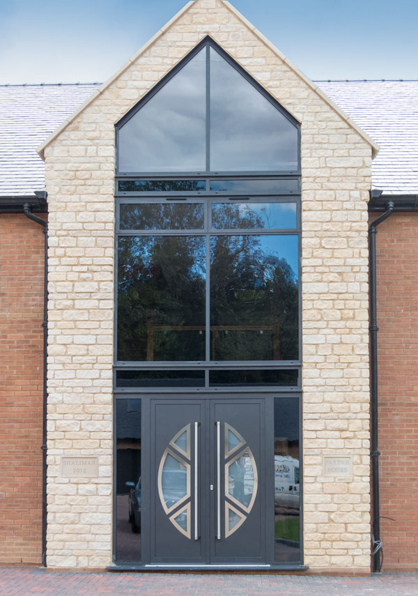 Contemporary Doors Alumen