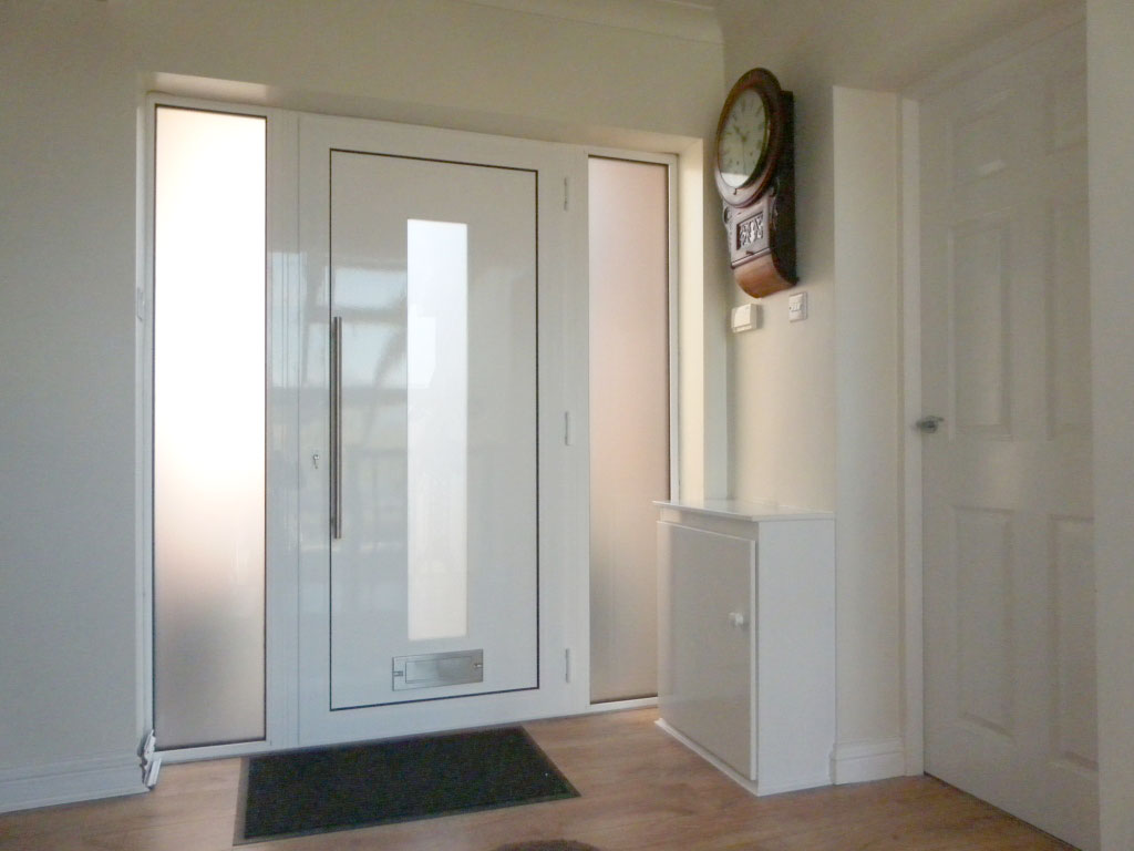 contemporary doors can be different colours on the inside with white being a popular choice modern front38 front