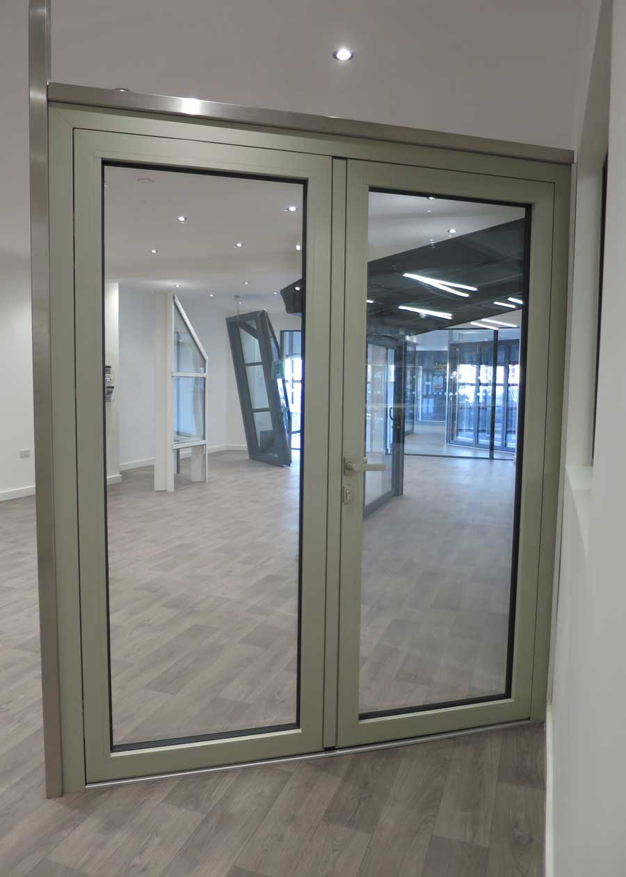 Millennium Plus Entrance Door Alumen