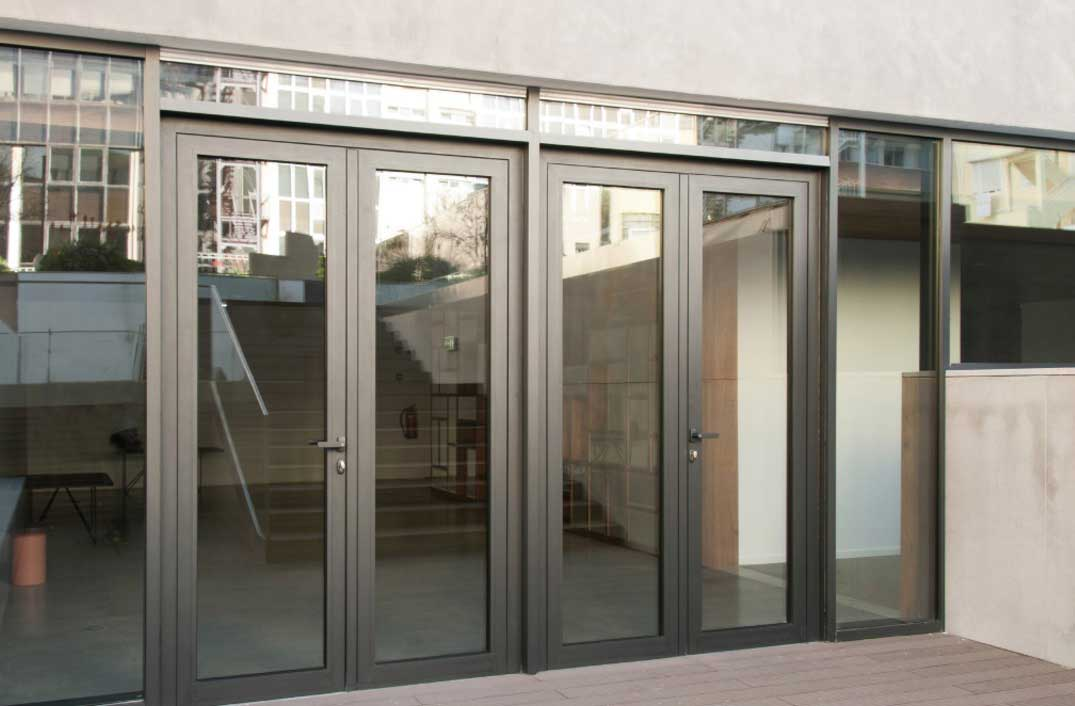 Millennium Plus Double Doors ... & Cortizo Millennium Plus Door - Manufactured by Alumen