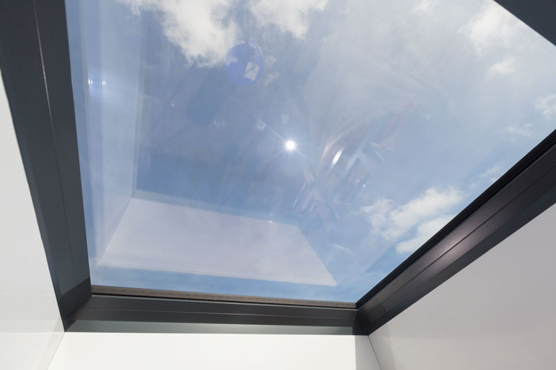 Internal view of Helios Rooflight.