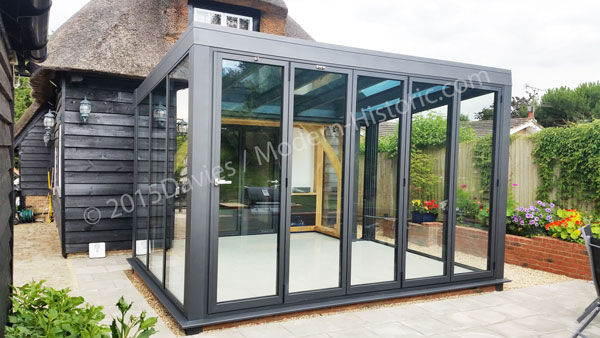 Aluminium conservatories contemporary design ideas and for Glass rooms conservatories