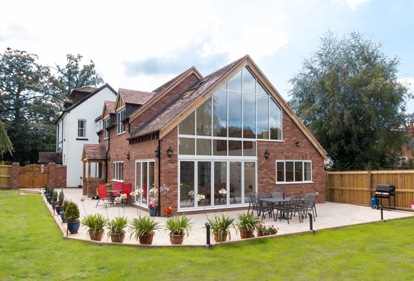 SMART Bifold Doors with SMART Alitherm Windows