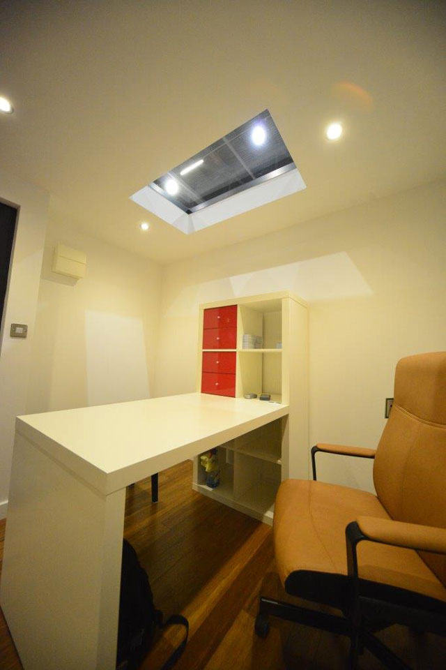 One of our aluminium rooflights