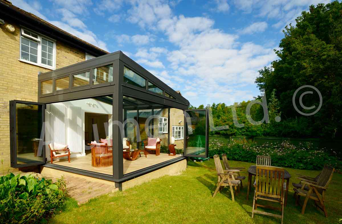 Modern conservatory design ideas - Side On Aluminium Conservatory