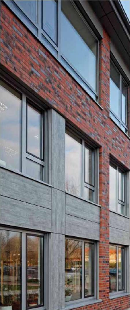The Schuco Slimline Casement WIndow is suitable to light commercial applications as well as residential properties