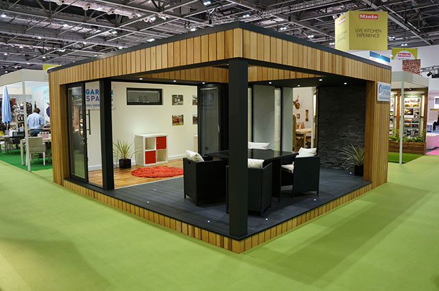 Alumen joins garden spaces at grand designs 2015 alumen for Grand designs garden
