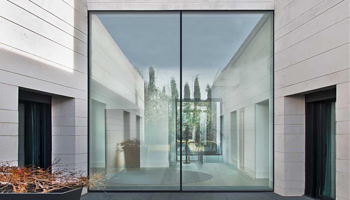 Fabricators Of Aluminium Doors And Windows Contemporary Front
